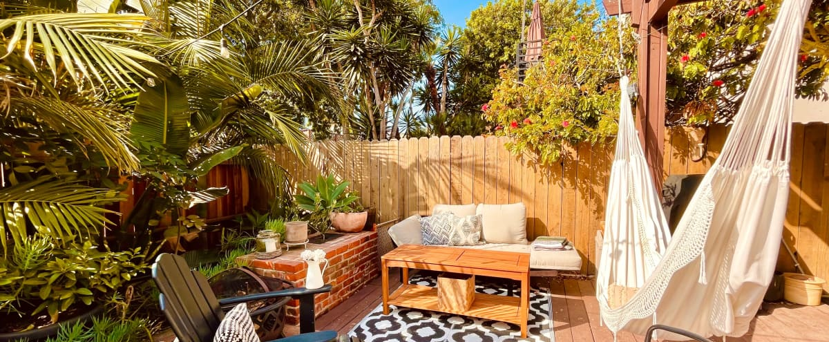 Jungle Patio w BBQ Steps to the Beach in playa del rey Hero Image in Playa Del Rey, playa del rey, CA