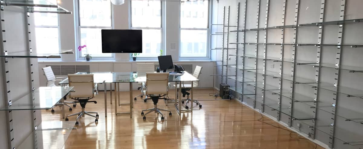 Office Space, Skyline View, Open Concept, Private Offices, Midtown, Garment District, Time Square in New York Hero Image in Midtown, New York, NY