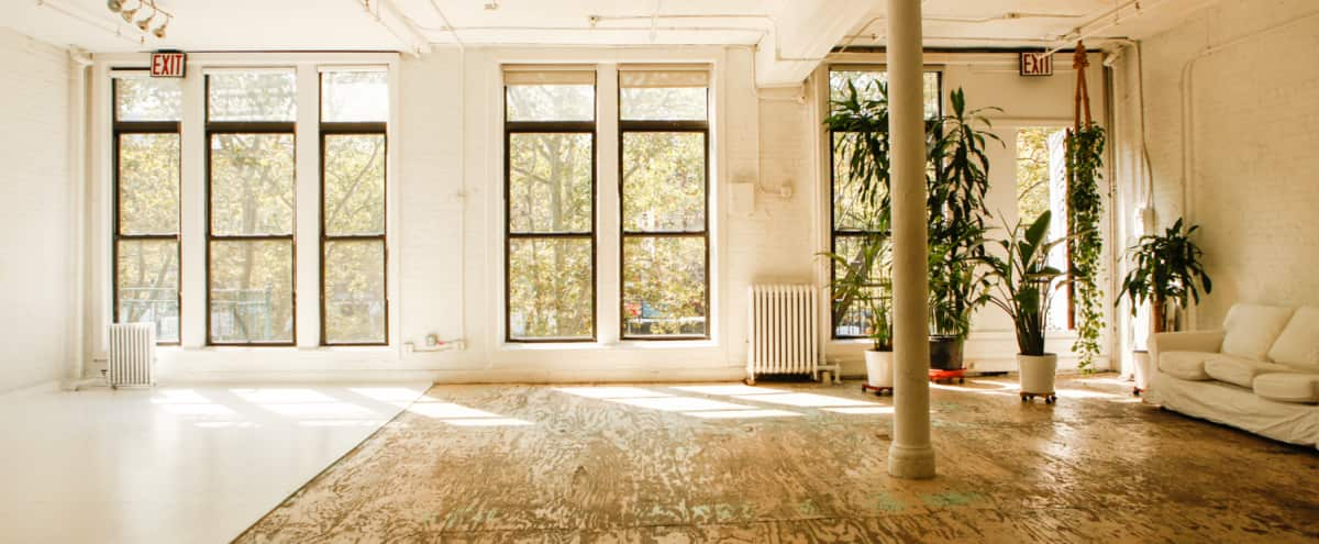 Sunny Downtown Loft with Original Details in New York Hero Image in Bowery, New York, NY