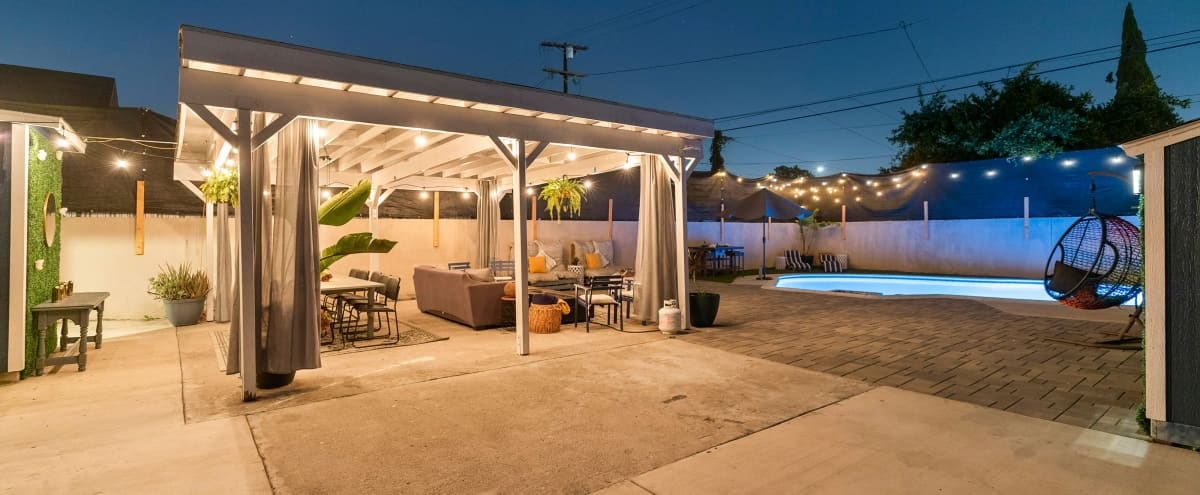 Cozy Pool House Surrounded by LA Charm! in Los Angeles Hero Image in South Los Angeles, Los Angeles, CA