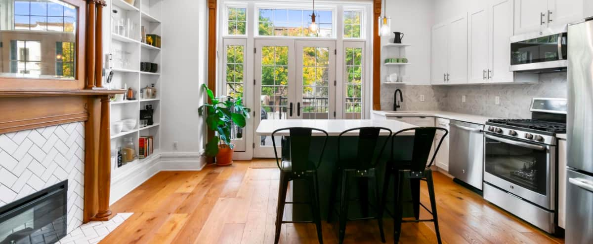 Bed-Stuy Brooklyn Brownstone with Huge Open Space & Private Backyard in BROOKLYN Hero Image in Bedford-Stuyvesant, BROOKLYN, NY