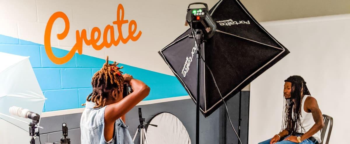Content Creation Photo Studio w/ Prep Room in Atlanta Hero Image in Pittsburgh, Atlanta, GA