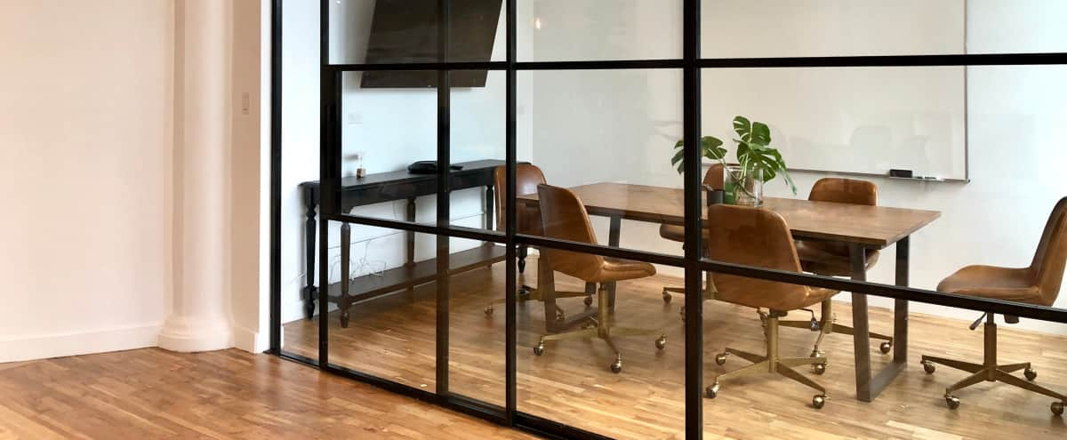 Private Meeting Room for 6 in SoHo in New York Hero Image in SoHo, New York, NY
