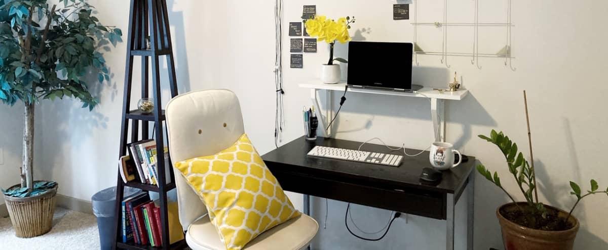 Bright Home Office with Good Vibes! in Atlanta Hero Image in Midtown, Atlanta, GA