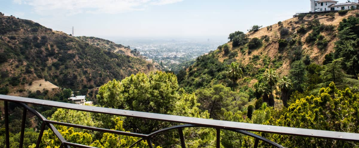 4500 sqft Terrace in Hollywood Hills with Surrounding View and a Large Pool in Los Angeles Hero Image in Hollywood Hills, Los Angeles, CA
