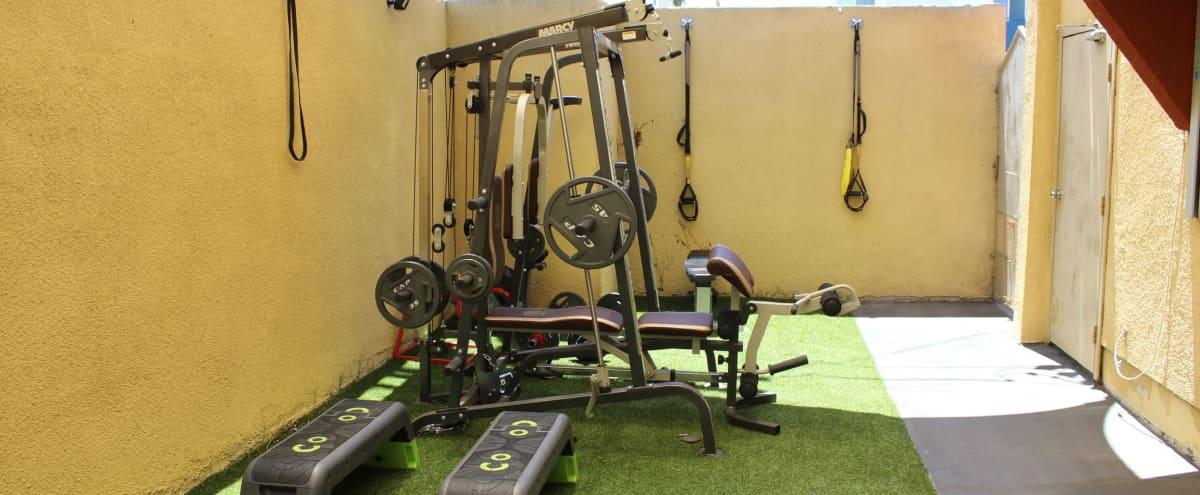 Outdoor Boutique Gym and Fitness Studio in Los Angeles Hero Image in Central LA, Los Angeles, CA
