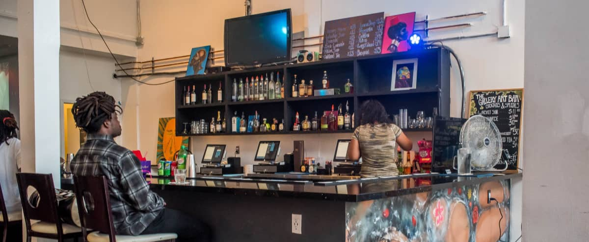 Urban Art Gallery with Full Bar in OAKLAND Hero Image in Downtown Oakland, OAKLAND, CA