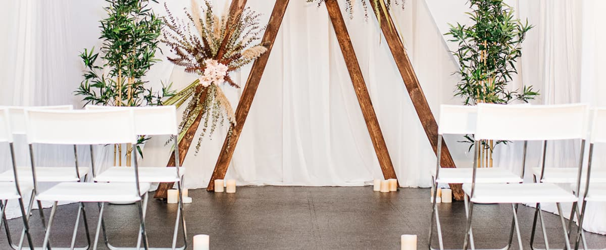 Elegant Multi-Purpose Event Space Great for Small Weddings in Toronto Hero Image in Port Lands, Toronto, ON