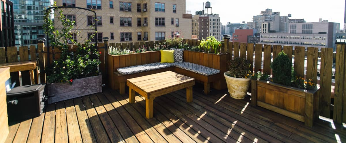 Unique Gramercy Creative Studio with Roof Deck Views in New York Hero Image in Gramercy, New York, NY