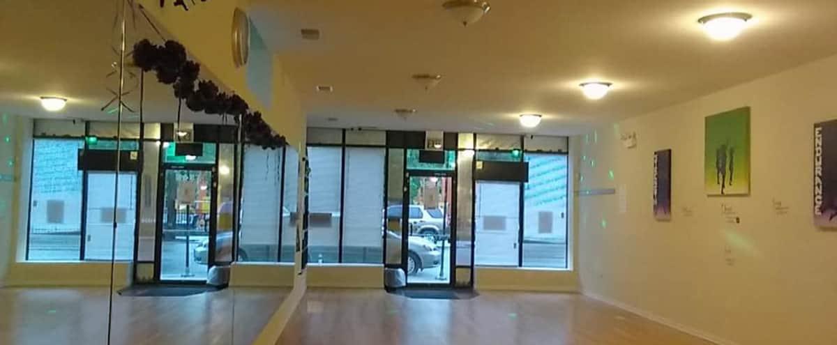 Spacious Dance/Yoga Studio in Logan Square in Chicago Hero Image in Logan Square, Chicago, IL