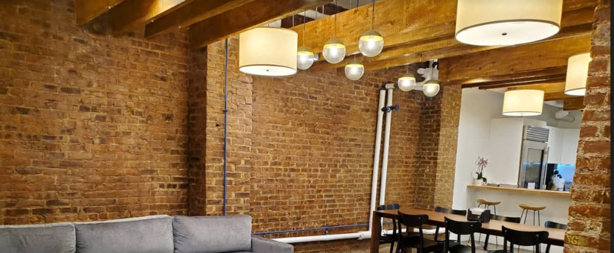 Midtown Cellar Space with Café and Fitness Studio in New York Hero Image in Chelsea, New York, NY