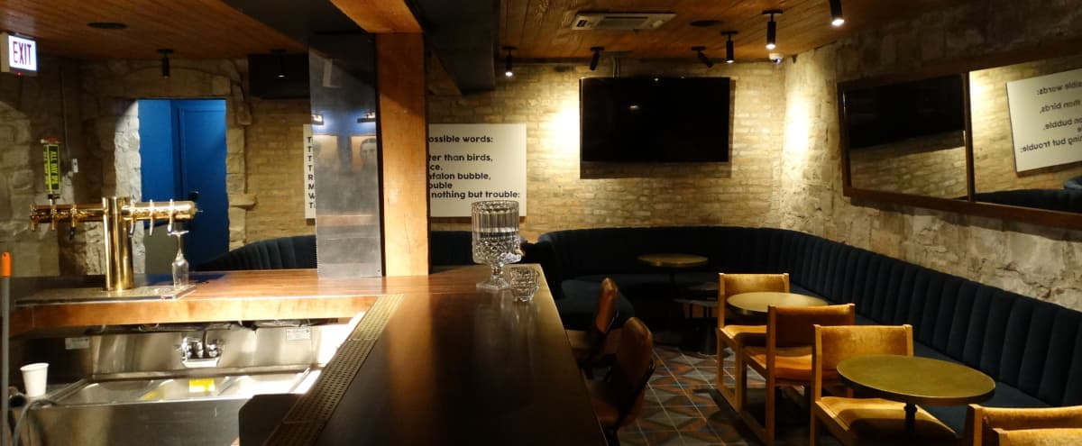 Wrigleyville bar/speakeasy space in boutique hotel in Chicago Hero Image in Lake View, Chicago, IL
