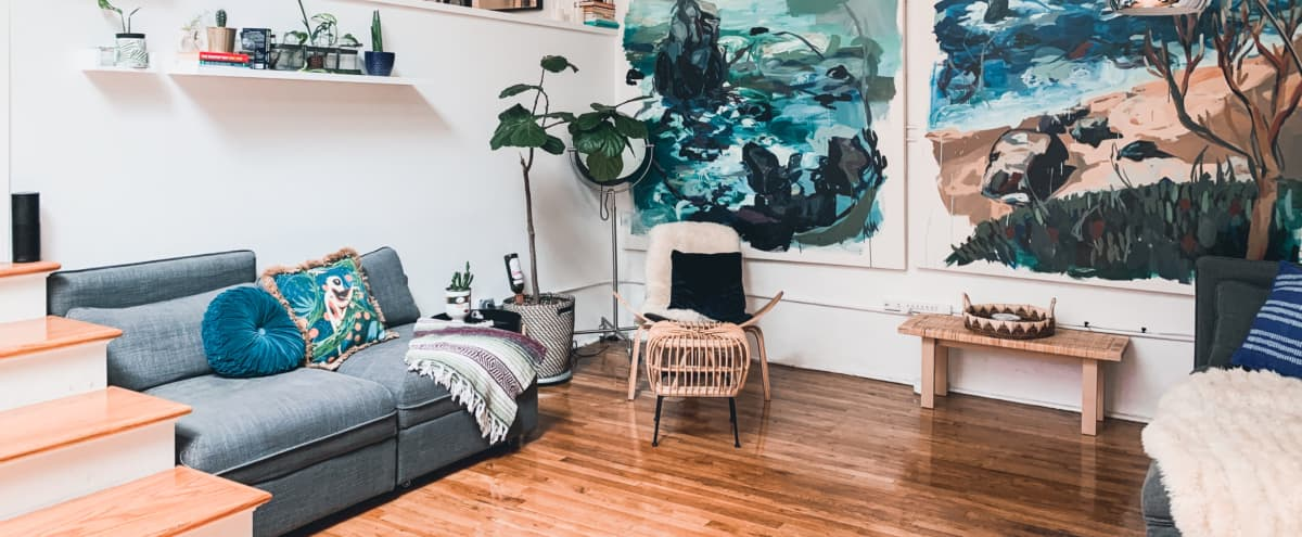 Boho Modern Williamsburg Loft in Brooklyn Hero Image in Williamsburg, Brooklyn, NY