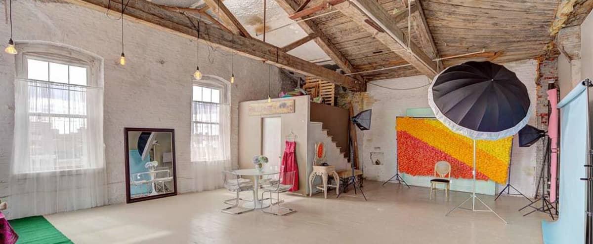 Lofted Creative Studio with Great Natural Light in Philadelphia Hero Image in East Kensington, Philadelphia, PA