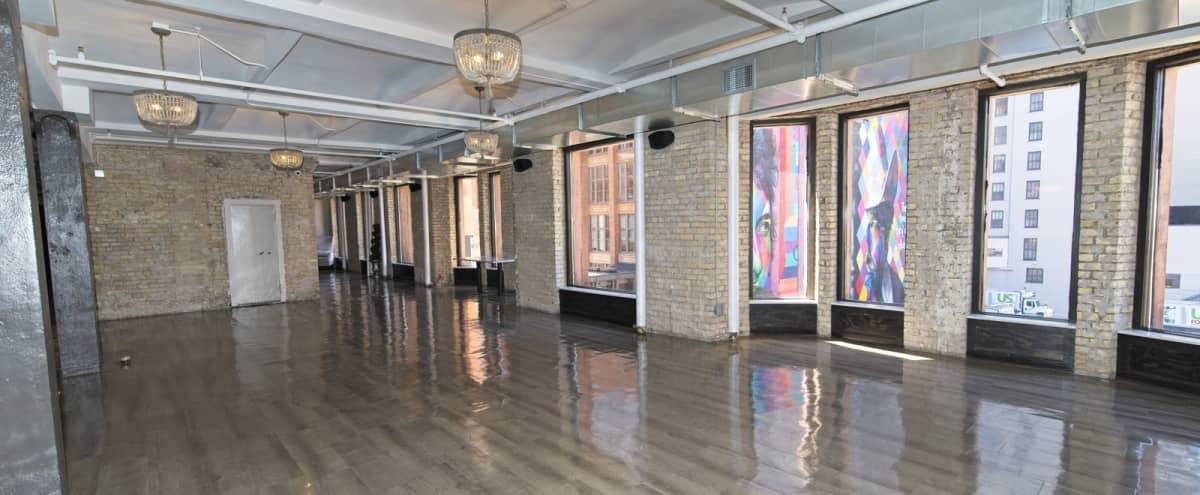 Industrial yet Elegant Studio Space w/ Exposed Brick in Minneapolis Hero Image in Downtown West, Minneapolis, MN