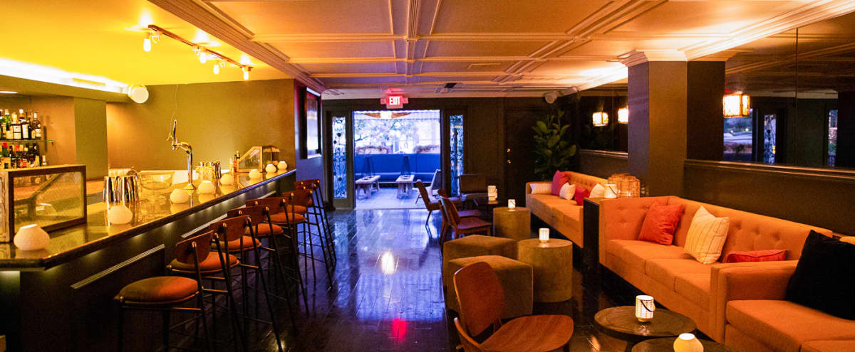 West Hollywood Bar with contemporary European feel in Los Angeles Hero Image in Melrose, Los Angeles, CA