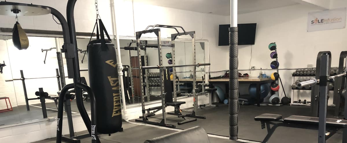 Private gym in SW yonkers close to Ludlow Metro-North with 3 separate rooms, cardio, universal, free weights in Yonkers Hero Image in Ludlow, Yonkers, NY