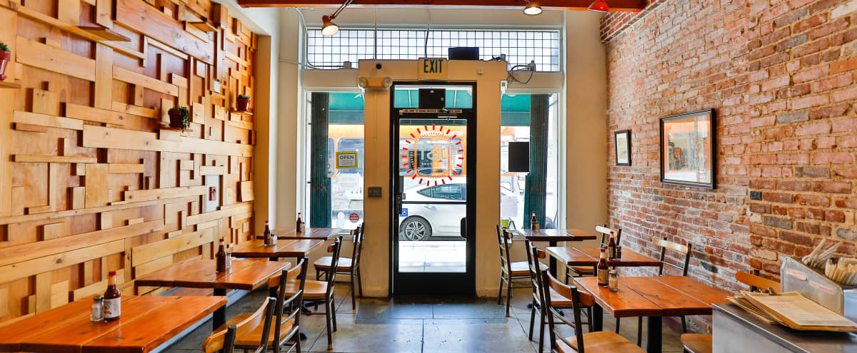 Lovely Restaurant Cafe with Full Commercial Kitchen in Los Angeles Hero Image in Downtown Los Angeles, Los Angeles, CA