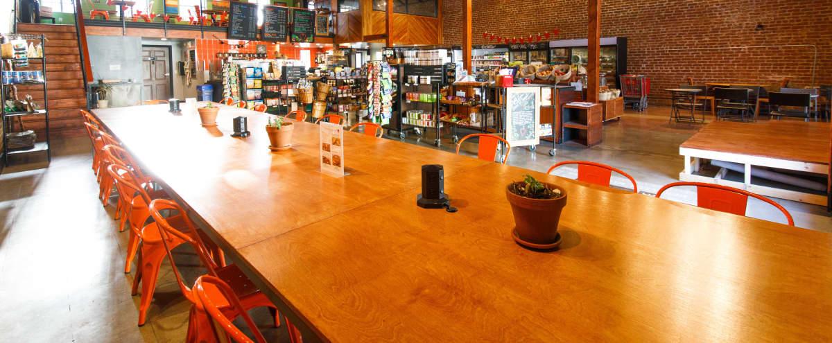 Unique Off-Site Venue with Work Loft, Cafe, Breakout Room & Outdoor Patio in Los Angeles Hero Image in Central LA, Los Angeles, CA