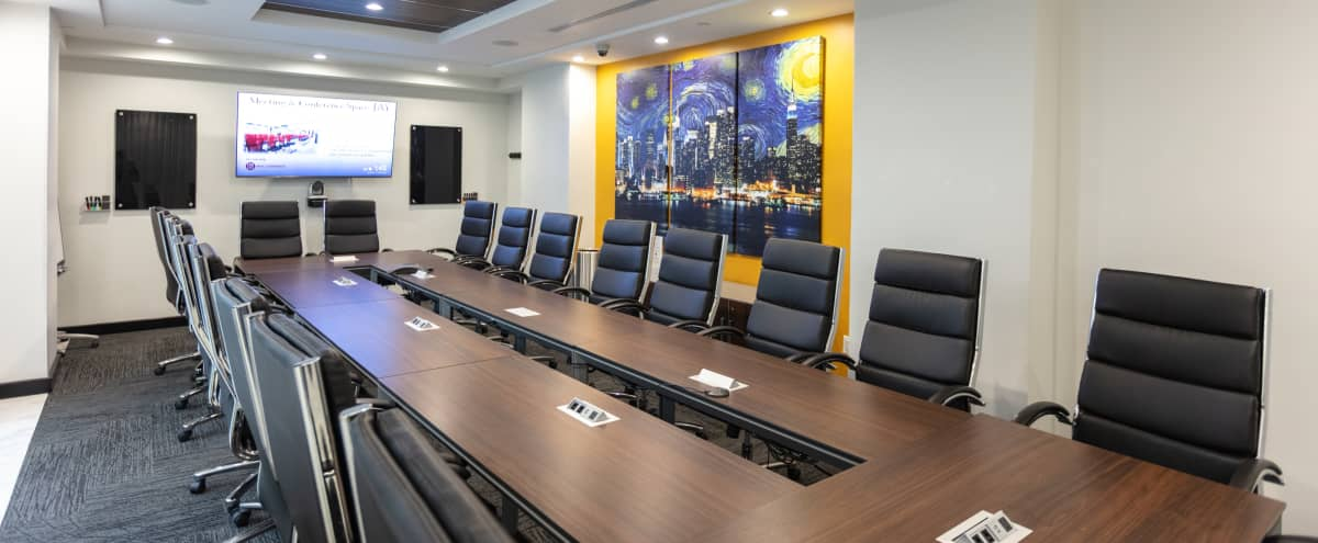 Stunning Large Meeting Room for 20 in New York Hero Image in Midtown, New York, NY