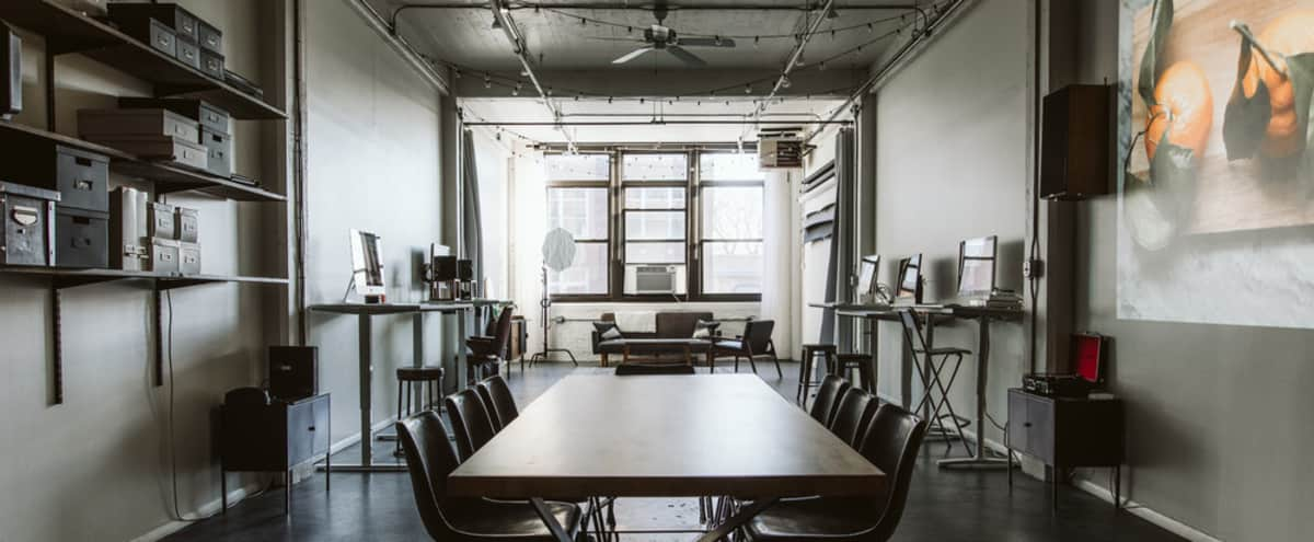Creative Hub Perfect for Meetings & Events in Chicago Hero Image in Ravenswood, Chicago, IL