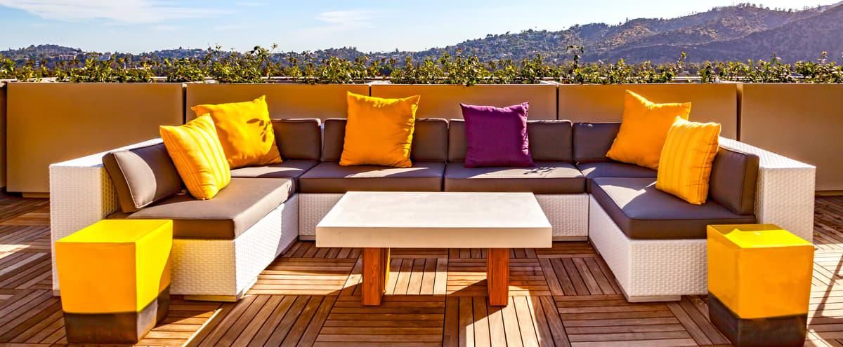 Indoor/Outdoor Rooftop Lounge Space with Breathtaking Hillside Views in Glendale Hero Image in Tropico, Glendale, CA