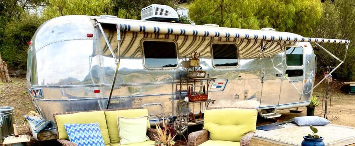 Charming classic Airstream located on a private 10 acre ranch in the Mountains in Westlake Village Hero Image in undefined, Westlake Village, CA