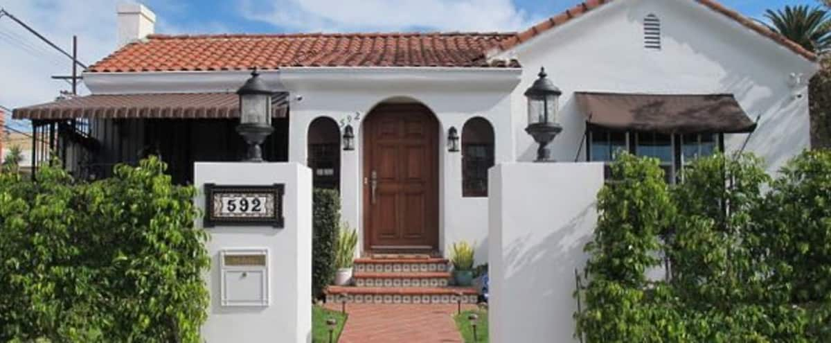 Character Spanish Bungalow in Larchmont Village (Los Angeles) near Production Studios in Los Angeles Hero Image in Central LA, Los Angeles, CA