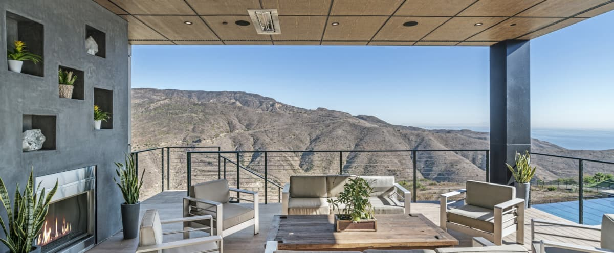 Sweeping Ocean and Mountain Views - Brand New, Architectural Gem in Malibu Hero Image in undefined, Malibu, CA