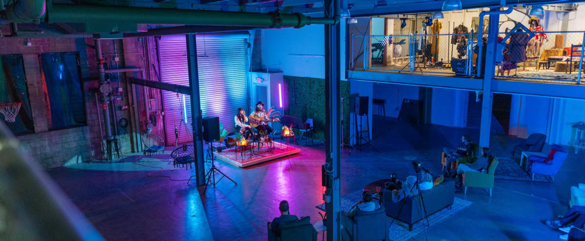 Spacious Warehouse Studio with Various Open Spaces for Events in Saint Petersburg Hero Image in Grand Central District, Saint Petersburg, FL