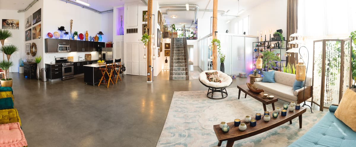 2300 sq ft luxury event loft w/private deck, custom lighting and seating in Los Angeles Hero Image in undefined, Los Angeles, CA
