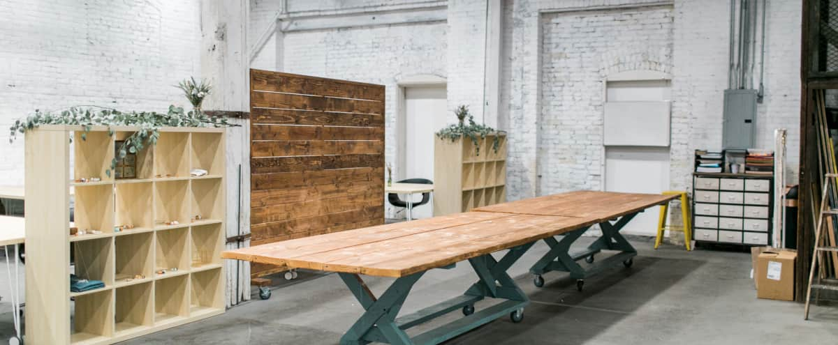 DTLA Arts District Industrial Warehouse with Eclectic Design & Easy Access in Los Angeles Hero Image in Downtown, Los Angeles, CA