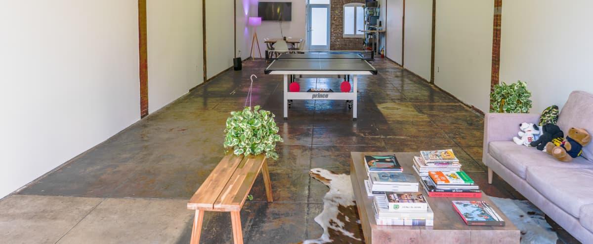 Industrial Multi-usage Creative Studio with Outdoor Patio in Los Angeles Hero Image in Mid City, Los Angeles, CA