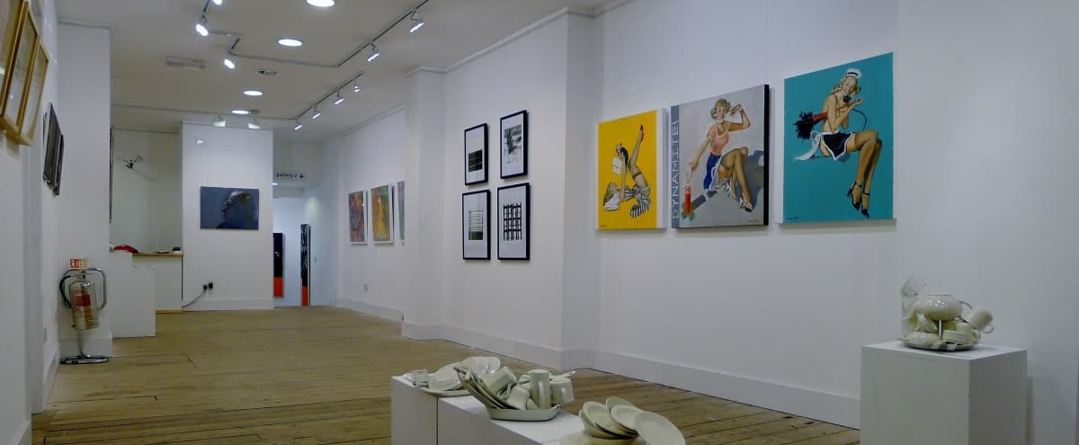 Bright and Spacious Gallery perfect for Events in London Hero Image in Bethnal Green, London,