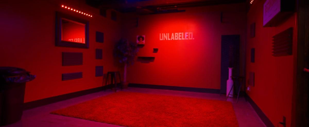 Music Video & Livestream Studio With Light Bars in Kansas City Hero Image in Midtown - Westport, Kansas City, MO
