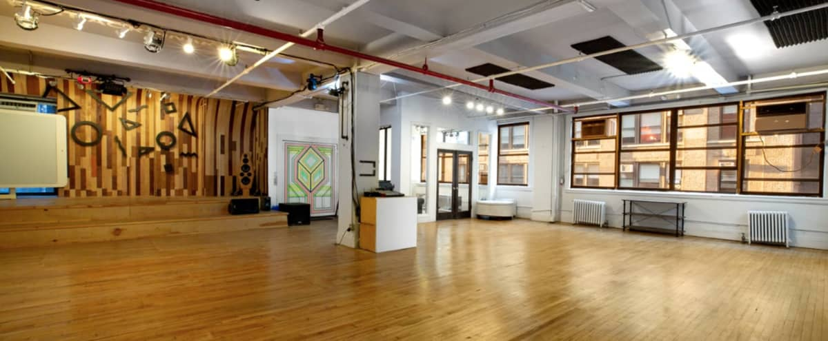Three Floor / 15,000 sqft Loft Space w/ Open Space and Private Rooms in EMPIRE STATE Hero Image in Chelsea, EMPIRE STATE, NY