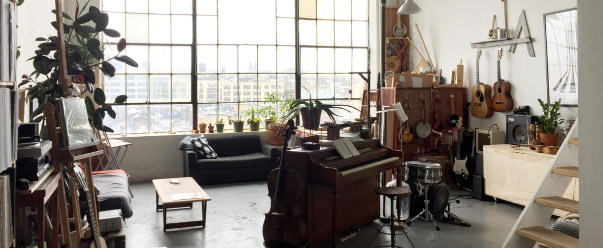Illustrious Loft Amid Industrial NY in Brooklyn Hero Image in East Williamsburg, Brooklyn, NY