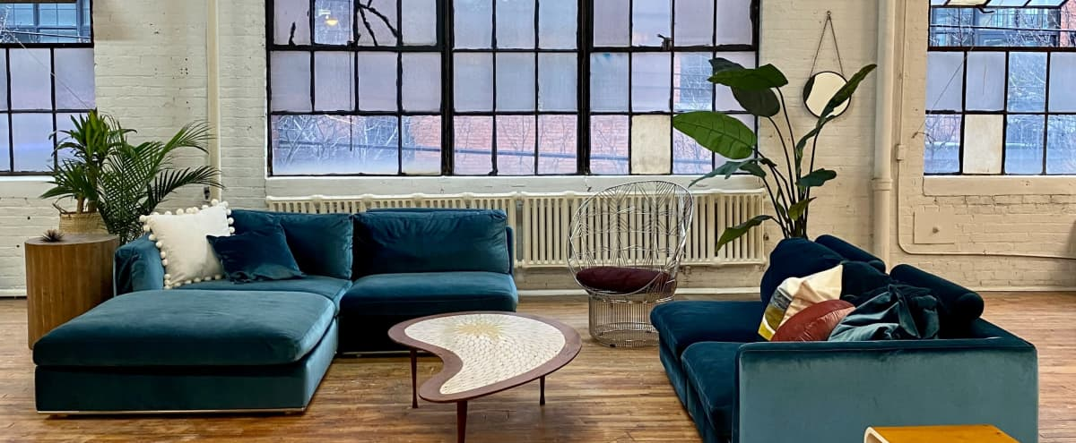 Downtown Natural Light Loft w/ High Ceilings | Interior Style | Commercial Photo Studio | Instagram Ready in Detroit Hero Image in Corktown, Detroit, MI