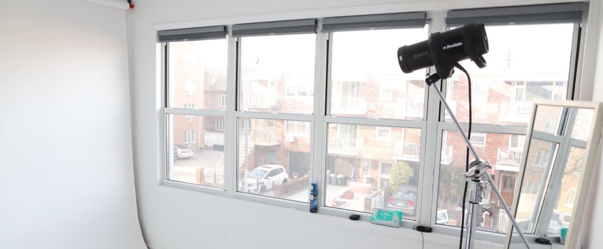 Creative Light Filled Studio in Brooklyn Hero Image in Bensonhurst, Brooklyn, NY