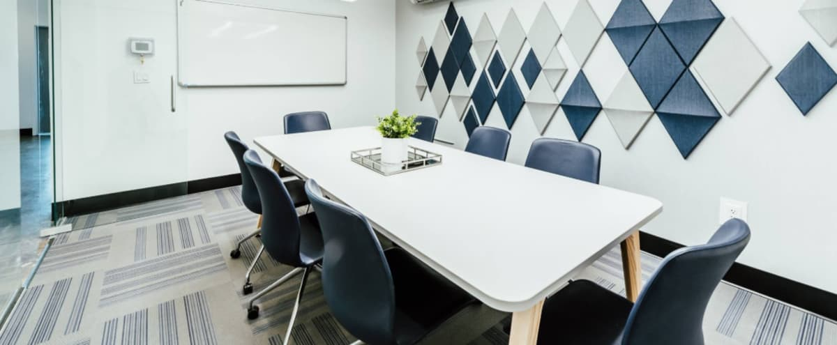 Chic and Professional Conference or Meeting Room for Eight People in Englewood Hero Image in undefined, Englewood, CO