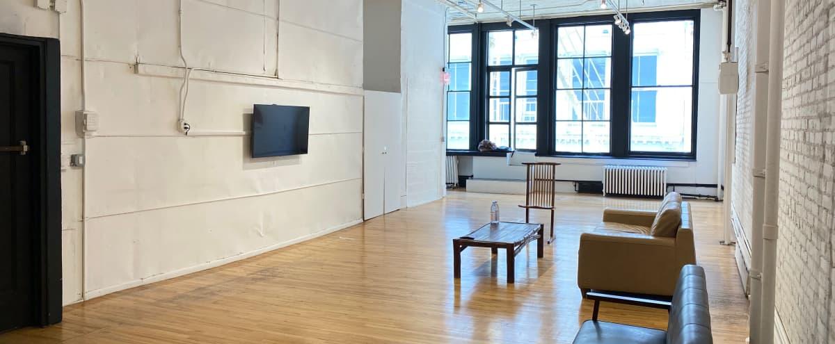 Full Floor Amazing Light Meeting & Event Space in Prime SoHo in New York Hero Image in Lower Manhattan, New York, NY