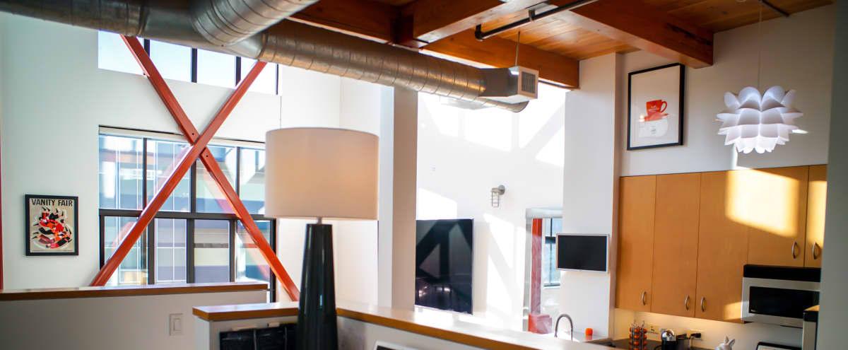 Multi Purpose Fully Finished Penthouse Studio in San Jose Hero Image in Central San Jose, San Jose, CA