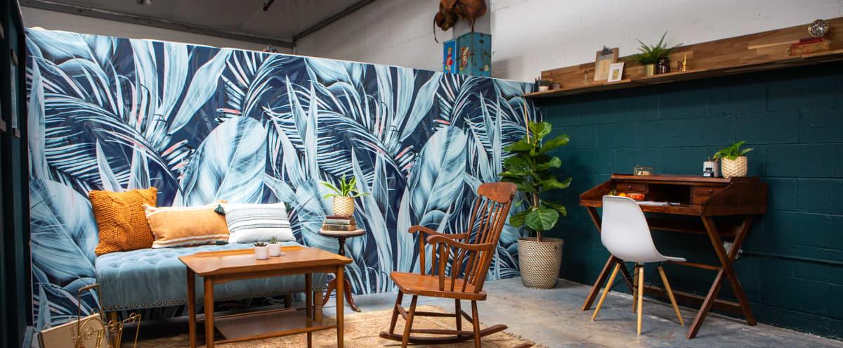 Tropical Midcentury Modern Writer's Studio with Skylights in Art Space in Alameda Hero Image in undefined, Alameda, CA