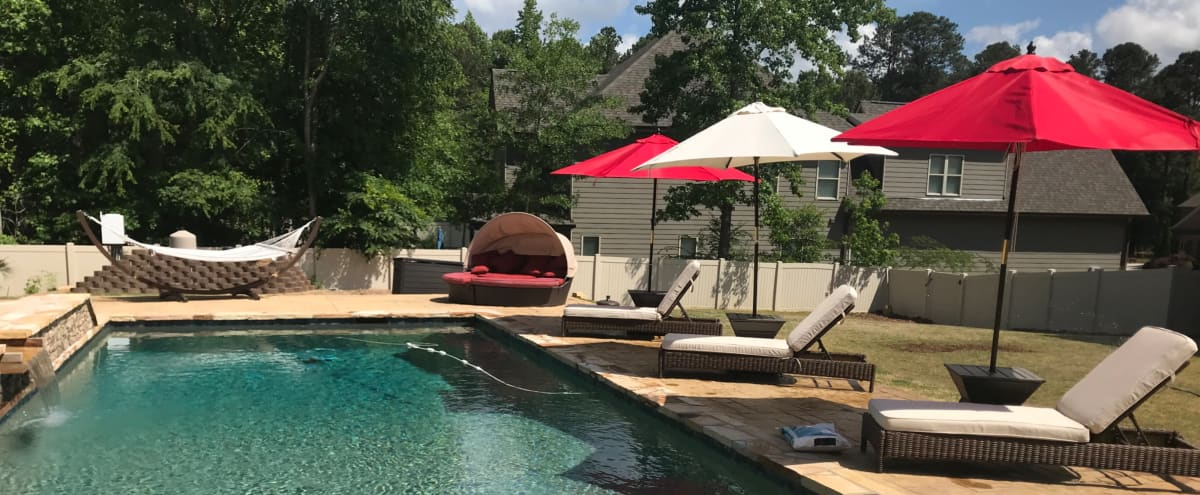 Resort Style Home in Upscale neighborhood w/ executive style pool in Lawrenceville Hero Image in undefined, Lawrenceville, GA