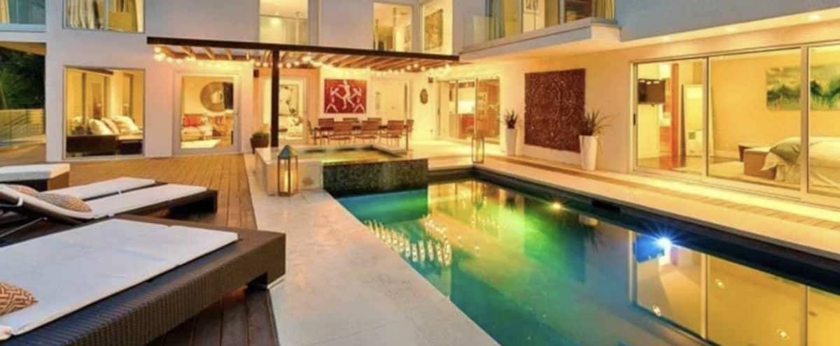 Villa Bechelli, Open Format,indoor outdoor Living. in Los Angeles Hero Image in Central LA, Los Angeles, CA
