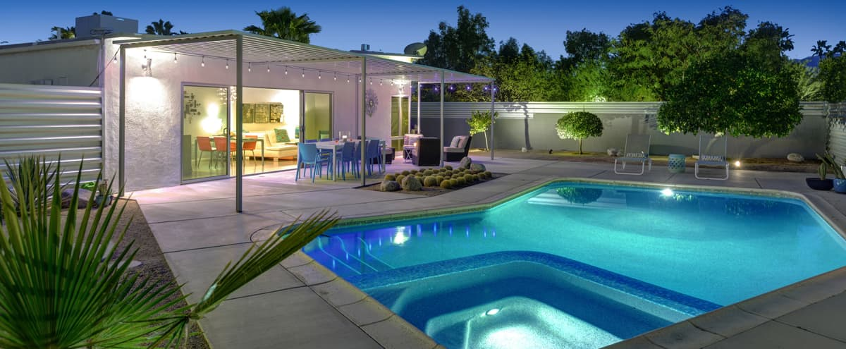 NEW LISTING Mid-Century Modern Gem in Palm Springs in Palm Springs Hero Image in undefined, Palm Springs, CA