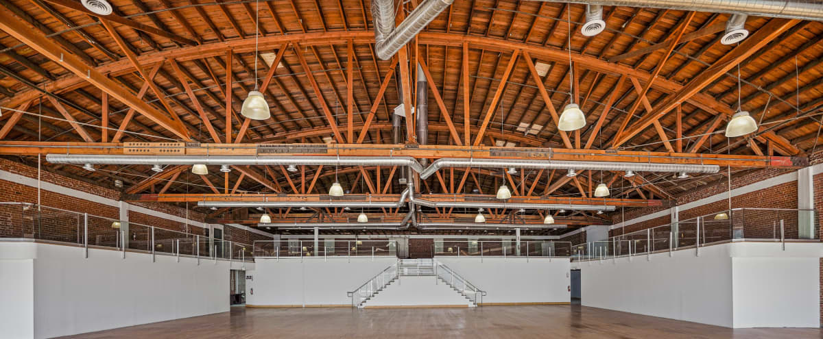 Modern Exposed Brick Multi-use Event, Pop-up, Gala, and Gallery Venue in Los Angeles Hero Image in South Los Angeles, Los Angeles, CA