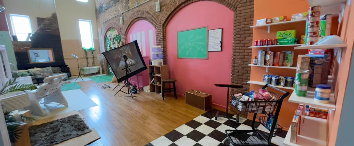 1000 sq ft. Studio located in Downtown Art District of Baltimore (Studio A) in Baltimore Hero Image in Station North, Baltimore, MD