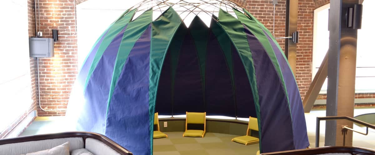 Creative Meeting Tent in San Francisco Hero Image in South of Market, San Francisco, CA