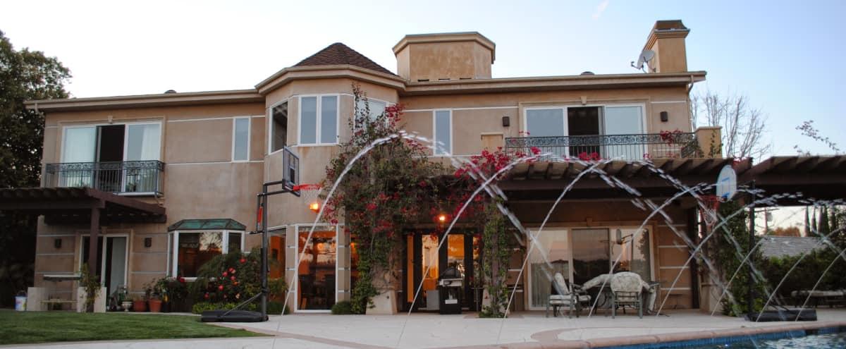 Mediterranean Style Mansion in Encino Hero Image in Encino, Encino, CA